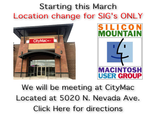 SIG location change 2019